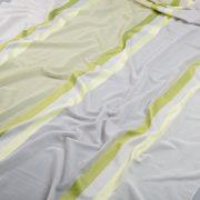 Tkanina zasłonowa 3299 /4 szary z zielonym