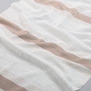 Tkanina zasłonowa A 1908 /01 brązowy jasny