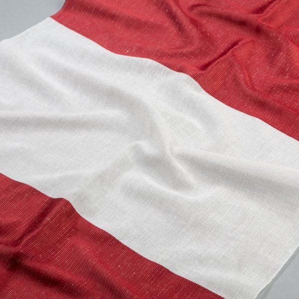 Tkanina zasłonowa A 1940 /04 czerwony