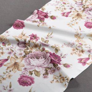 Tkanina zasłonowa Amma /3 fioletowy
