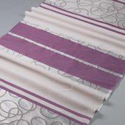 Tkanina zasłonowa 13125 /05 fioletowy z szarym