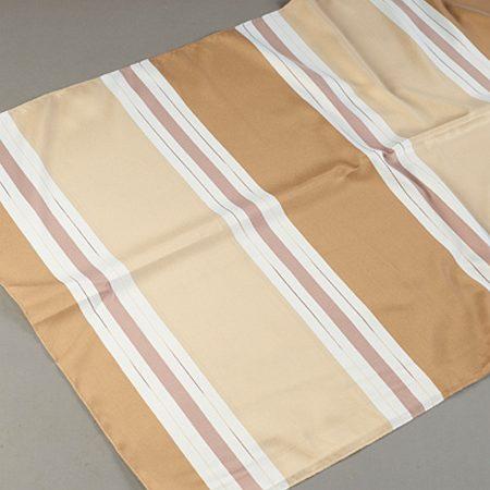 Tkanina zasłonowa 1937 /2 brązowy jasny z beżowym