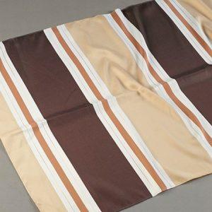 Tkanina zasłonowa 1937 /3 brązowy ciemny z beżowym