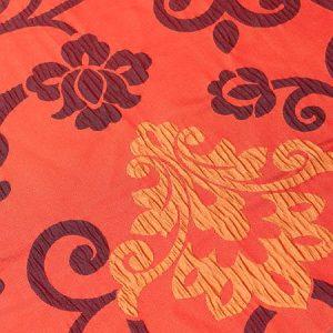 Tkanina zasłonowa AS 20972 /16 czerwony z bordowym i żółtym