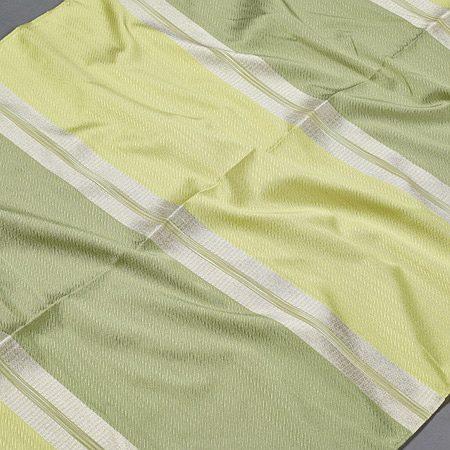 Tkanina zasłonowa DKM 1453 /4 zielony z seledynowym