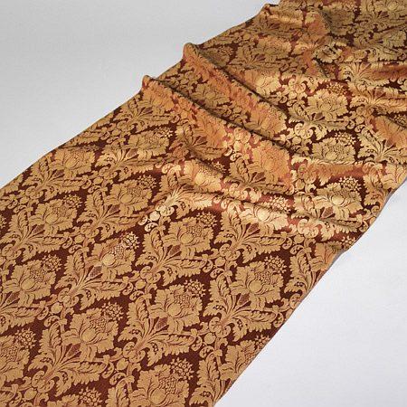 Tkanina zasłonowa Veroli HX 00286 /5 brązowy