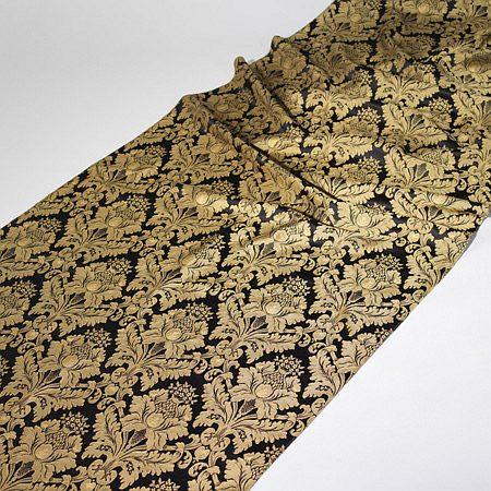 Tkanina zasłonowa Veroli HX 00286 /czarno-złoty