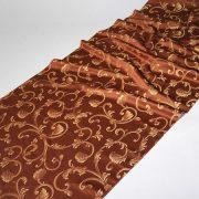 Tkanina zasłonowa Veroli HX 00287 /5 brązowy