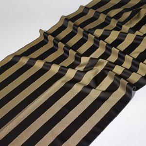 Tkanina zasłonowa Veroli HX 00288 /czarno-złoty