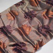 Tkanina zasłonowa WELLINGTON 6889 /10 rudy z brązowym