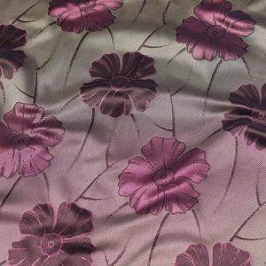 Tkanina zasłonowa WELLINGTON 6889 /8 fioletowy z czarnym