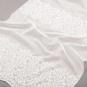 Firana 12274 /biały