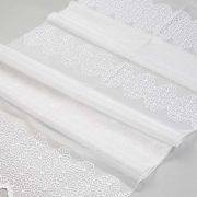 Firana 39918-3L /280 biały z białym