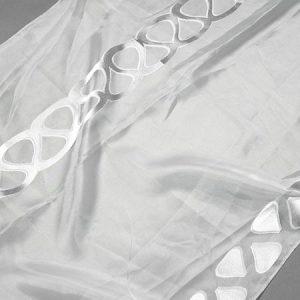 Firana ORGANZA J-3579 /1 biały