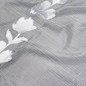 Firana ORGANZA SEMI 10756 /101 biały