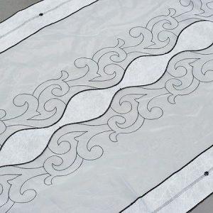 Firana panel 25947 /czarny