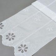 Firana panel 92536 /biały