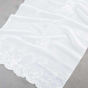Firana WOAL HAFY XXC 10627 /biały