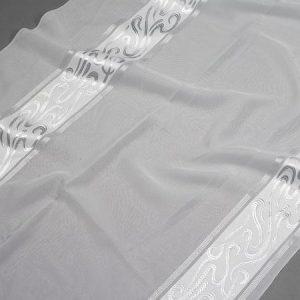 Firana WOAL J 3571 /2 biały