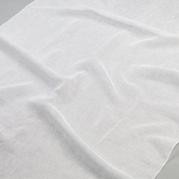 Tkanina zasłonowa 63006 /white-biały