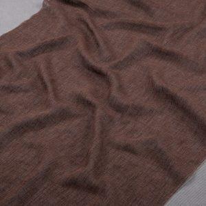 Tkanina zasłonowa 63054-LB /7 brown-brązowy