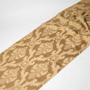 Tkanina zasłonowa ART PD 503 /5 brązowy z beżowym