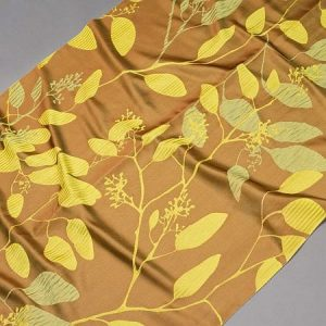 Tkanina zasłonowa AS 20964 /11 oliwkowy z zielonym
