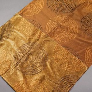 Tkanina zasłonowa AS 21000 /15 brązowy i złoty