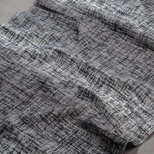 Tkanina zasłonowa AS 22257 /12 czarny i szary