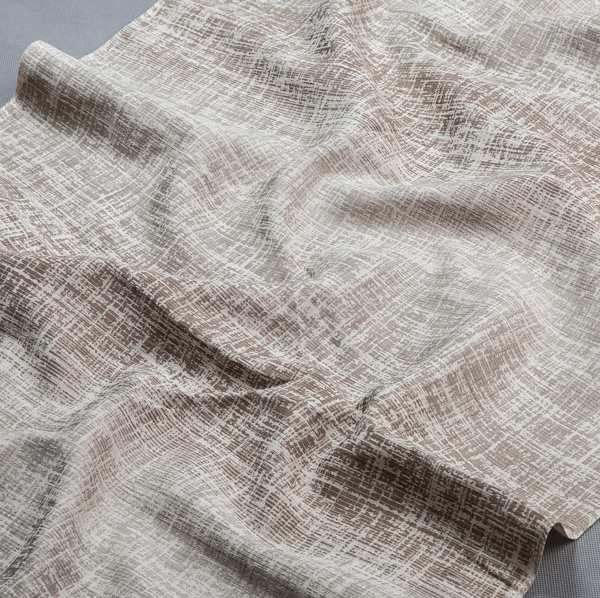 Tkanina zasłonowa AS 22257 /2 brązowy i beżowy