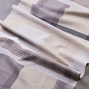 Tkanina zasłonowa AS 22377 /4 beżowy z szarym i czarnym