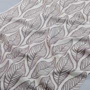 Tkanina zasłonowa AS 22744 /11 beżowo-szary z brązowym