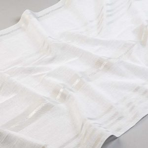 Tkanina zasłonowa BD 13029 /08 szary i srebrny