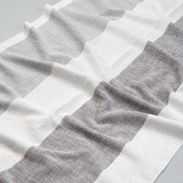 Tkanina zasłonowa BD 2295 /1 kremowy z szarym