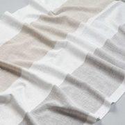 Tkanina zasłonowa BD 2295 /7 kremowy z beżowym i szarym