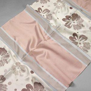 Tkanina zasłonowa BD 75504 /9 brązowy z różowym