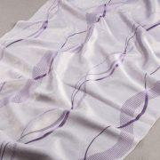 Tkanina zasłonowa BKJ 1419 /16 fioletowy jasny z ciemnym