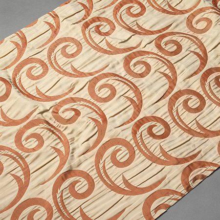 Tkanina zasłonowa CORTE 20843 /5008 beżowy z brązowym