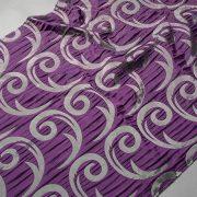 Tkanina zasłonowa CORTE 20843 /5504 fioletowy z szarym