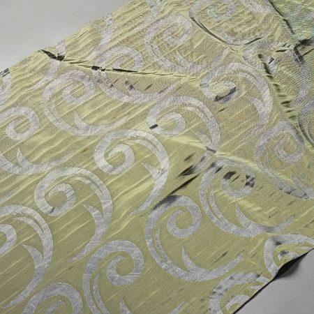 Tkanina zasłonowa CORTE 20843 /5506 zielony z szarym
