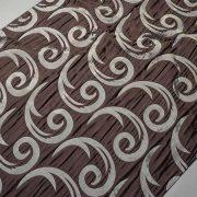 Tkanina zasłonowa CORTE 20843 /5507 brązowy ciemny z szarym