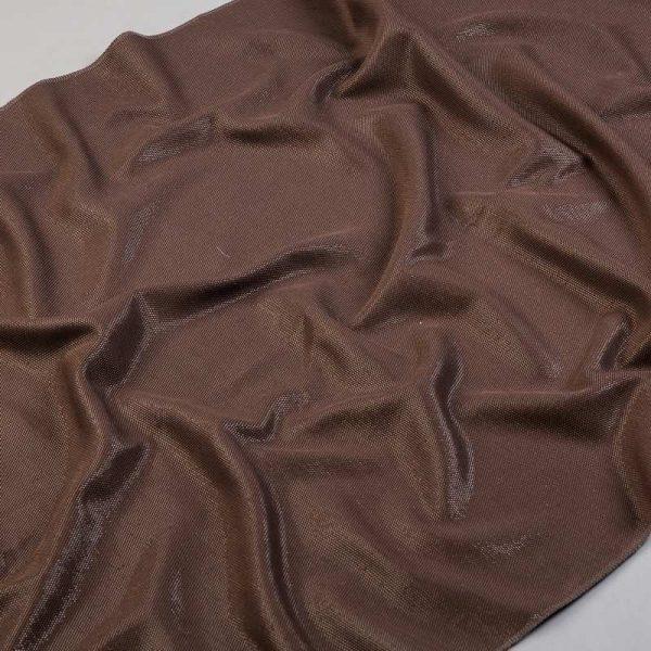 Tkanina zasłonowa ES 4033 /358 brązowy ciemny