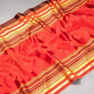 Tkanina zasłonowa FURIO 00724 /6 czerwony