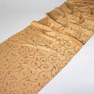 Tkanina zasłonowa IVY /gold-złoty