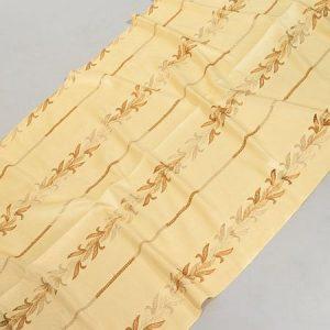 Tkanina zasłonowa KANCHAN 16436 /fawn-beżowy z brązowym