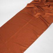 Tkanina zasłonowa KANCHAN GŁADKI /copper-brązowy