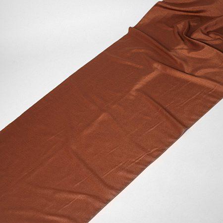 Tkanina zasłonowa KANCHAN GŁADKI /auburn-brązowy