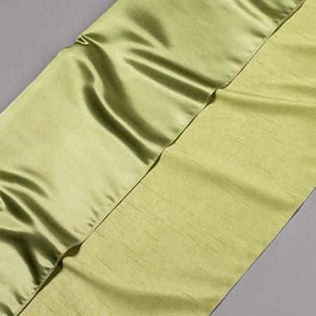 Tkanina zasłonowa KANCHAN GŁADKI /kiwi-zielony