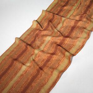 Tkanina zasłonowa NAPLEAS 5036 /19 brązowy z oliwkowym