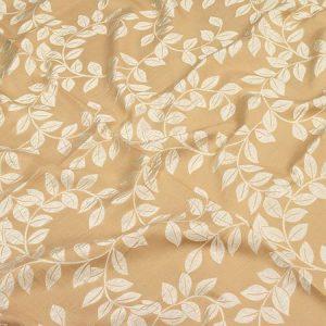 Tkanina zasłonowa NEW JAIPUR /6-10 beżowy z kremowym